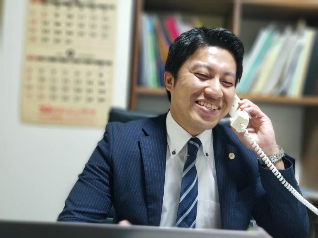 電話対応の川口弁護士